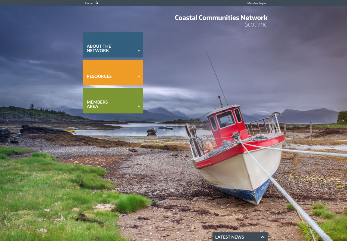 Coastal Communities website